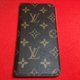 Louis Vuitton Accessories | Authentic Louis Vuitton I Phone Case (6+) | Color: Brown/Red | Size: Os