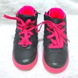 Gucci Shoes   Authentic Gucci High Top Toddler Girl Sneakers   Color: Blue/Pink   Size: Size 24 (Toddler Girl)