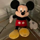 Disney Toys | Mickey Mouse Plush Toy | Color: Black/Red | Size: One Size