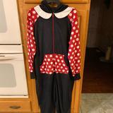 Torrid Intimates & Sleepwear | Torrid Minnie Mouse Onesie Size 000 New. | Color: Black/Red | Size: 000
