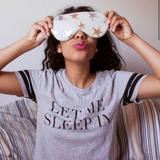 Free People Accessories   Free People Starry Eyed Sleep Mask   Color: Cream/Silver   Size: Os