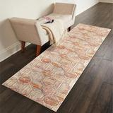 Bungalow Rose Runner Vanceboro Oriental Indoor/Outdoor Area Rug Polyester/Cotton in Brown, Size 0.4 D in | Wayfair D33407E048A74387AE952FDB901533A5