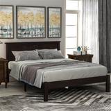 Red Barrel Studio® Wood Platform Bed w/ Headboard, Wood Slat Wood in Brown, Size Full | Wayfair D62F274B564F4BF4BFFCF0B97A4BAC5A
