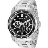 Invicta Pro Diver Chronograph Quartz Black Dial Men's Watch 35395