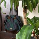 Dooney & Bourke Bags   Dooney & Bourke Plaid Wool Bag   Color: Blue/Green   Size: Os