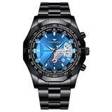Fashion Sport Quartz Watches Waterproof Calendar Casual Business Watch Mens Stainless Steel Watch
