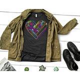 heART Supply Shirt (Neon Graphic) Art Teacher Shirt Art Supply Shirt Art Supply Heart Craft Supply Shirt Teacher Shirt Art Shirt Cute