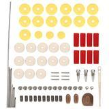 Flute DIY Repair Set Practical Flute Maintenance Kit for Flute Musical Instrument Parts Accessorie