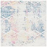 Dakota Fields Sachiko Polypropylene Ivory/Blue Rug Polypropylene in Blue/Brown, Size 79.0 W x 0.39 D in | Wayfair 6BC48D11EA8C4D438A78E087C40A6D23