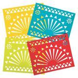 The Party Aisle™ Bold Adventures Fringe Fiesta Sarape Paper Placemats Paper   Wayfair 13935754