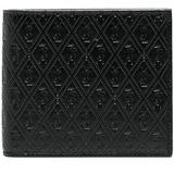 Debossed Logo Wallet - Black - Saint Laurent Wallets