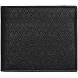 Le Monogramme All Over East/west Wallet In Embossed Smooth Leather - Black - Saint Laurent Wallets