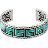G Enamel Bracelet - Green - Gucci Bracelets