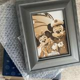 Disney Accents | Disney Cruise Line Mickey Frame | Color: Gray | Size: Os