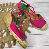 Ralph Lauren Shoes   Lauren By Ralph Lauren Cala Espadrilles   Color: Green/Pink   Size: 6