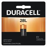 DURACELL PX28L Battery,Size 28L,Lithium,6V