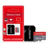 256GB Micro SD Card with Adapter High Speed Memory MicroSD Card Class 10 Memory Card for Nintendo Switch Android Smartphone Digital Camera Tablet and Drone