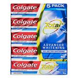 Colgate Toothpaste - 6.4-Oz. Total SF Advanced Toothpaste - Set of 5