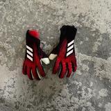 Adidas Other | Kids Soccer Gloves Negative Cut | Color: Black/Red | Size: 7