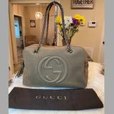 Gucci Bags | Firm! Gucci Soho Suede Leather Chain Bag | Color: Tan | Size: Os