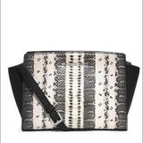 Michael Kors Bags | Michael Kors Selma Snake Print | Color: Black/White | Size: Medium