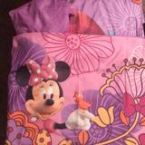 Disney Bedding | Disney Minnie Mouse 3-Piece Toddler Bedding Set | Color: Pink/Purple | Size: Toddler Bed