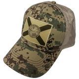 FloGrown Mens Digital Camo Snapback Hat