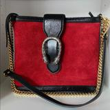Gucci Bags | Gucci Dionysus Bucket Bag | Color: Black/Red | Size: Os
