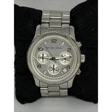 Michael Kors Accessories   Michael Kors Mk5076 Womens Stainless Steel Analog   Color: Silver   Size: Os