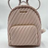 Michael Kors Bags | Michael Kors Erin Vegan Faux Leather Md Backpack | Color: Pink | Size: Medium