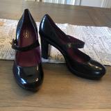 Coach Shoes   Coach 6.5 Patent Leather Mary Janes Platform Heels   Color: Black   Size: 6.5
