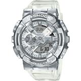 Analog-digital Clear Resin Strap Watch 51.9mm - Metallic - G-Shock Watches