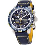 Promaster Skyhawk A-t Perpetual Alarm Chronograph Watch -01l - Blue - Citizen Watches