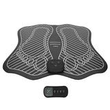 Foot Massager Machine, Foot Massage Mat Rechargeable Foot Massager, Foot Warmer Massager Foot Massage Pad Office Gift for Spa Home
