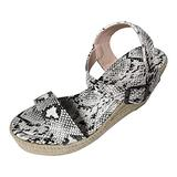 Open Toe Tie Up Ankle Wrap Flat Sandals for Women Elastic Ankle Strap Low Wedges Sandals Outdoor Hiking Sandals Light-Weight Shoes