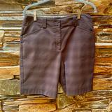 Nike Shorts   Nike Brown Plaid Golf Shorts (8)   Color: Brown/Red   Size: 8