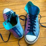 Converse Shoes | Converse Multi Color Custom High Top Blue Purple | Color: Blue/Purple | Size: 10
