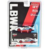 True Scale Miniatures GT-R (R35) Type 1 LB Works Rear Wing Martini Racing Ltd Ed 2400 pcs 1/64 Diecast Model Car by True Scale Miniatures MGT00133