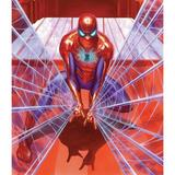 Room Mates Polyester Marvel Alex Ross Spiderman Tapestry Polyester in Red, Size 52.0 H x 60.0 W in | Wayfair TAP4529LG