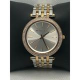 Michael Kors Accessories   Michael Kors Mk3203 Womens Stainless Steel Analog   Color: Silver/Tan   Size: Os
