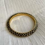Lilly Pulitzer Jewelry | Lilly Pulitzer Black & Gold Bangle | Color: Black/Gold | Size: Os