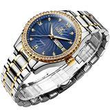 OLEVS Watch Men's Chronograph Quartz Watch Luxury Dress Watch for Men with Date Calendar,Wrist Watch for Men Big Face Stainless Steel Waterproof Wristwatch Men's