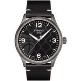 Gent Xl 3x3 Street Basketball Leather Strap Watch - Gray - Tissot Watches