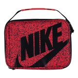 Nike Logo Graphic Insulated Lunch Box, Light Blue