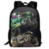 GRA-VE DIG-GER Truck 3D Pattern School Bags Cool Backpacks for Kids