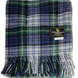"I LUV LTD Scottish Tartan Warm Wool Mix Throw Blanket Gordon Dress Plaid Couch Blanket Bed Throw Blankets Wool Rug Outdoor Blankets and Throws 60"" x 72"""