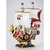 KaiWenLi ONE Piece Thousand Sunny Pirate Ship Anime Manga Character Character Model PVC Material Graphic Statue Collectibles/Crafts/New Year Christmas Gifts/Adult Toys/Decorations