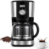 LIVING INDUSTRIAL INC Simple Coffee Maker in Black/Brown, Size 13.81 H x 10.82 W x 7.24 D in   Wayfair cqw210503170554001
