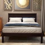 Red Barrel Studio® Wood Platform Bed w/ Headboard Wood Slat Queen, Size 39.2 W in   Wayfair D9784B396A414ED2AD8A5D3153131F34