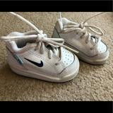 Nike Shoes | Nike Sneakers Slip On Shoes Kids Baby Us 2c Euc | Color: Blue/White | Size: 2bb